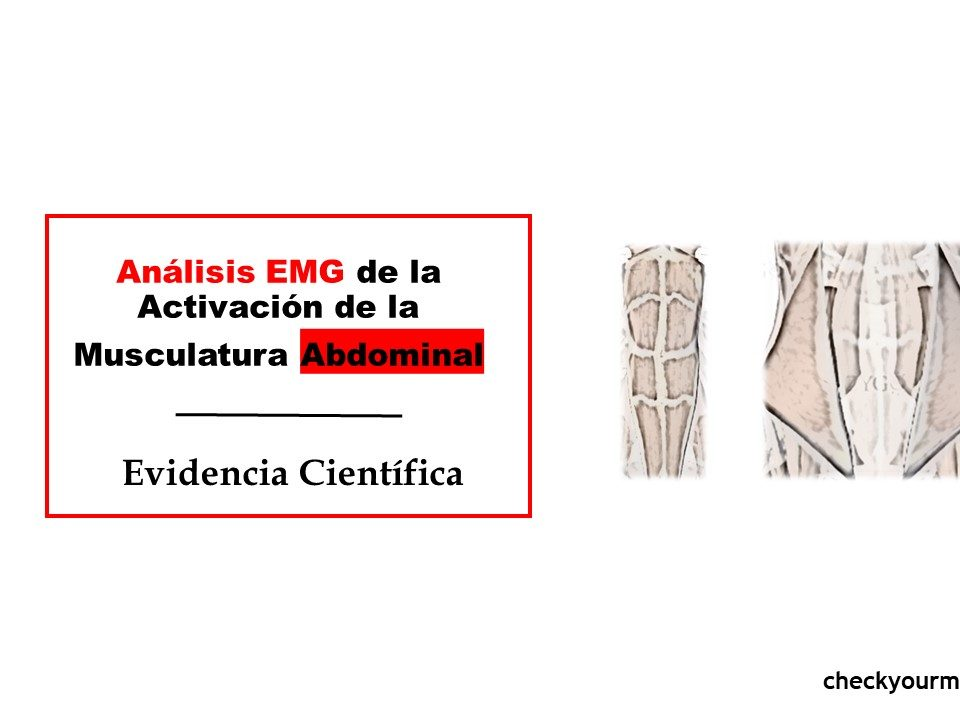 Análisis EMG de la Activación de la abdomen EJERCICIOS