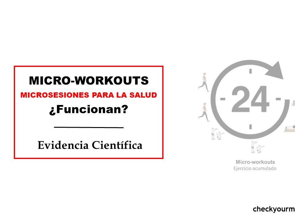 Micro workouts, microsesiones de entrenamiento para la salud