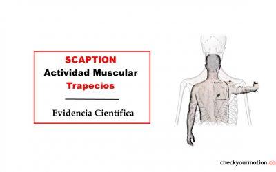 Actividad muscular de los trapecios durante el SCAPTION