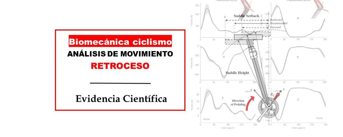 Biomecánica retroceso del sillín en las fuerzas de la articulación de la rodilla en el ciclismo