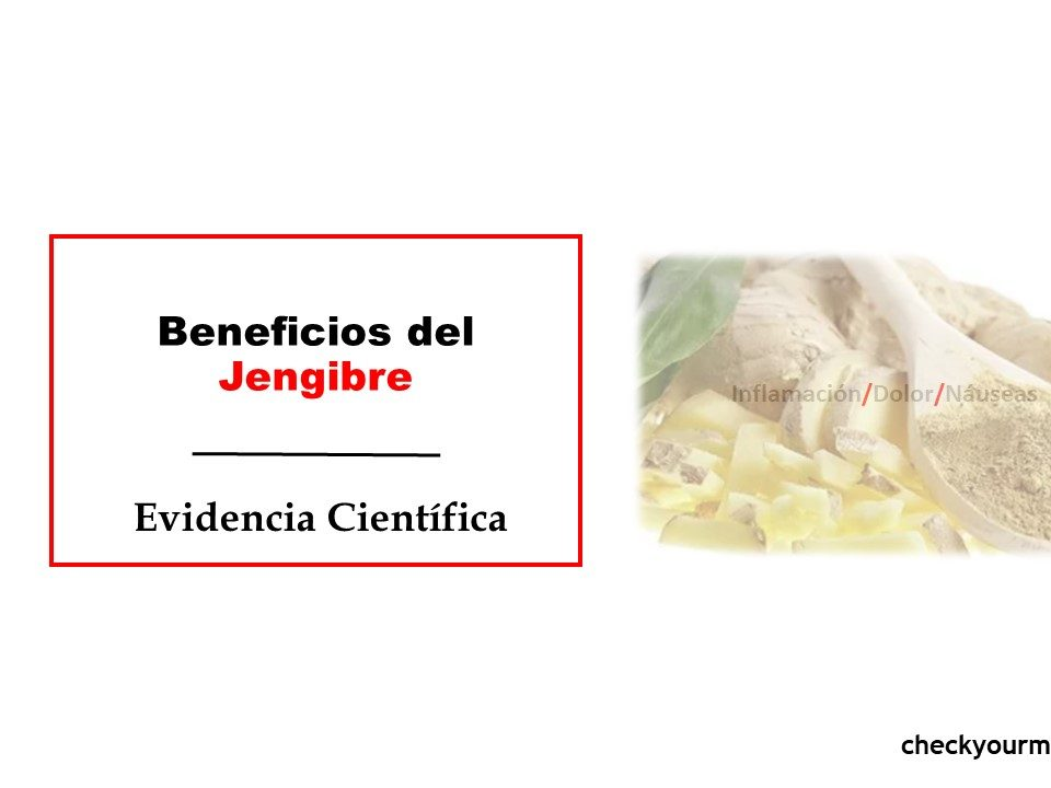 Beneficios de Jengibre