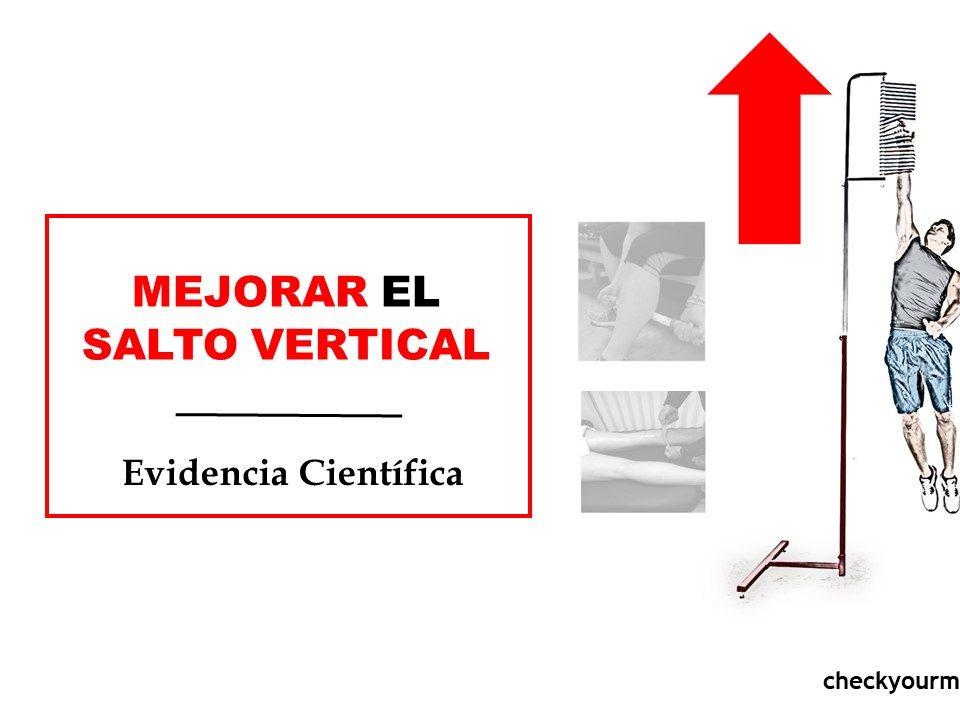Protocolo para mejorar el salto vertical