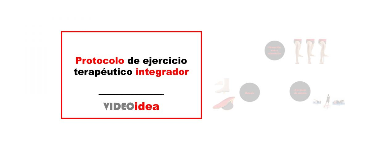 Protocolo de ejercicio terapéutico integrador