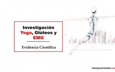 Investigación Yoga Glúteos y EMG