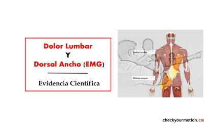 Dolor Lumbar y Activación Muscular EMG